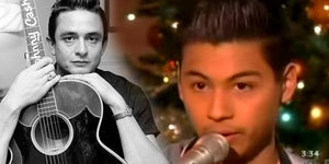 Talented Teen Sounds Just Like Johnny Cash!