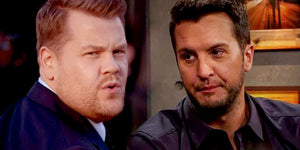 Luke Bryan Tells James Corden About His #1 Rule With Fan Photos