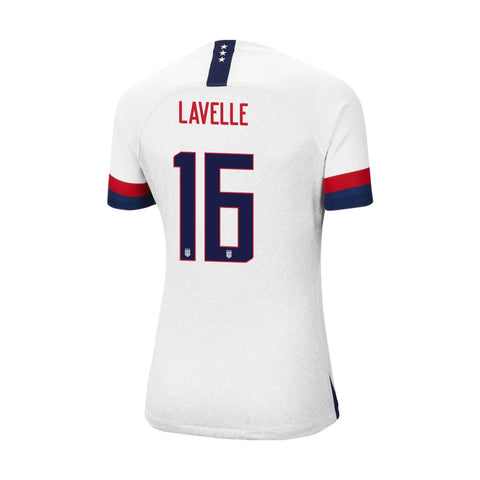 2019 Women's World Cup USA Nike National Team Lavelle #16 Home Jersey
