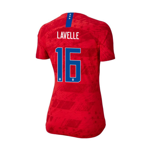 2019 Women's World Cup USA Nike National Team Lavelle #16 Away Jersey