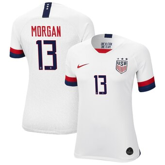 2019 Women's World Cup USA Nike National Team Morgan #13 Home Jersey