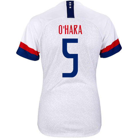 2019 Women's World Cup USA Nike National Team O´Hara #5 Home Jersey