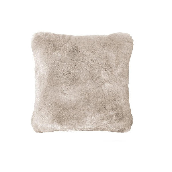 Plain Faux Fur Pebble | Cushion