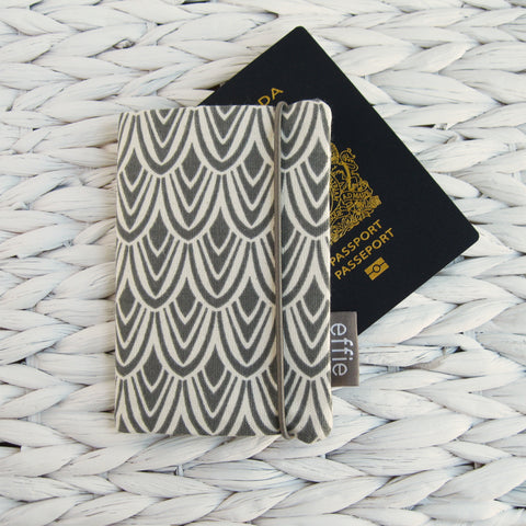 Passport Cover - Charcoal
