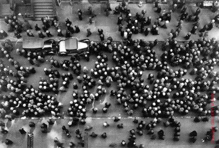 Hats in the Garment District by Margaret Bourke-White