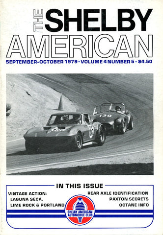 Shelby Am. (Vol. 4  #5 Sep-Oct 1979 - 66 pgs.)