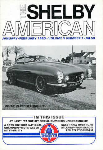 Shelby Am. (Vol. 5 #1 Jan-Feb 1980 - 66 pgs.)