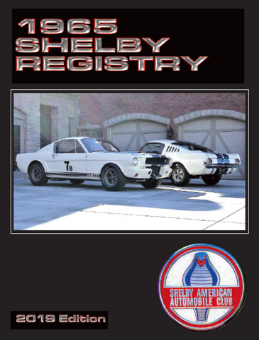 1965 Shelby Mustang Registry, 5th Edition (2019)