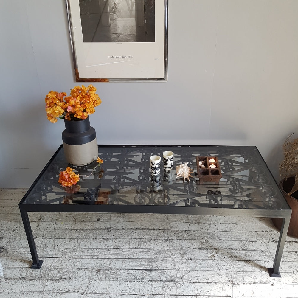 Tunisian Iron Coffee Table