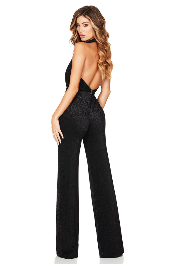 Dreamlover Jumpsuit in Black by Nookie the Label