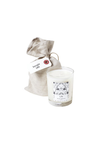 Bougie Lin / Linen candle