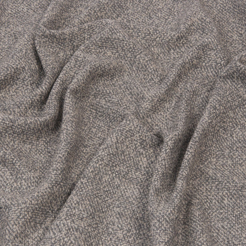 Grey Melange Blouclé Fabric 1226 - Fabrics4Fashion