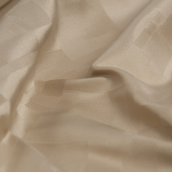 Beige Fancy Satin 234 - Fabrics4Fashion
