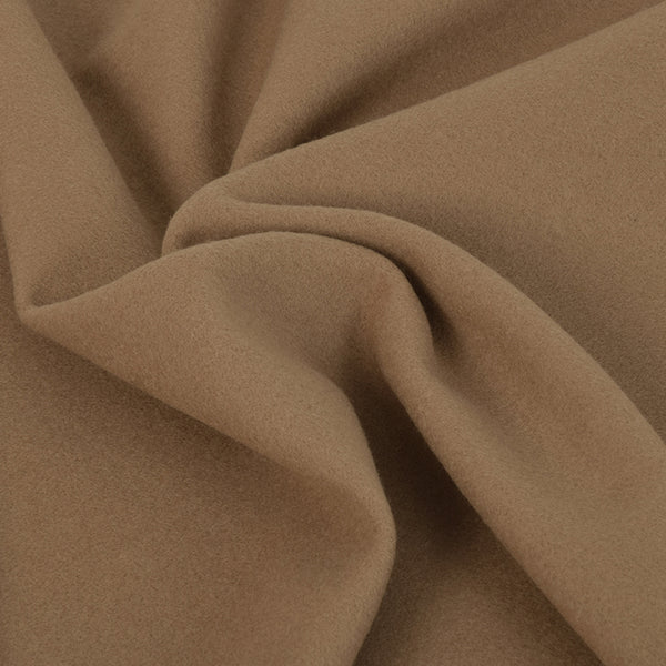 Camel Velour Wool Blend 2516 - Fabrics4Fashion