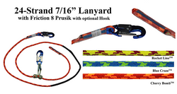 All Gear - EZ Adjustable Lanyard 8' Cherry Bomb - AG24SP7168SHA, All Gear - J.L. Matthews Co., Inc.
