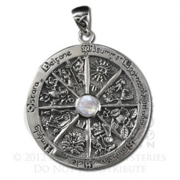 SS Wheel of the Year RMS pendant