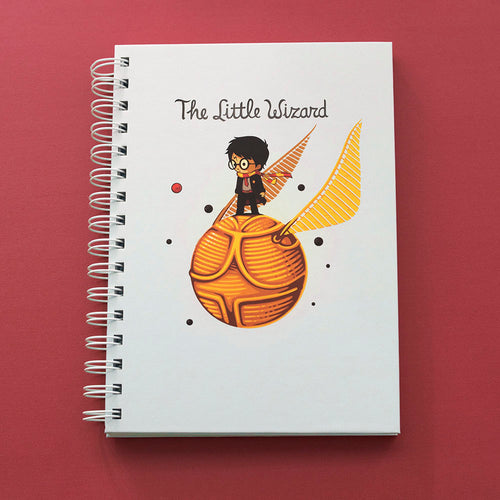 The Little Wizard - Notebook - Naolito