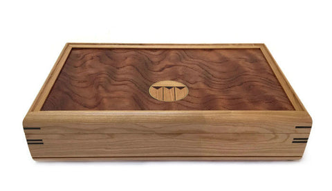 Mikutowski Woodworking - Cherry and Bubinga Valet Box