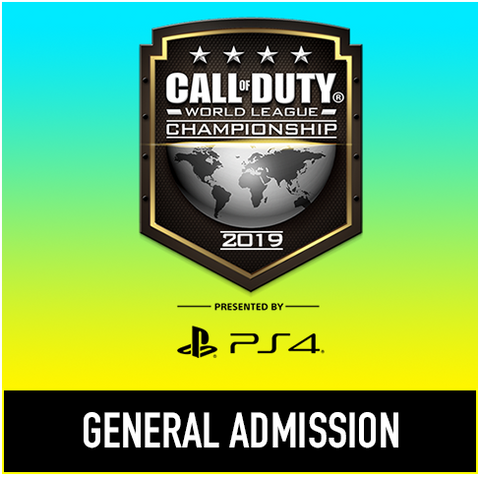 Call of Duty World League Championship - General Admission