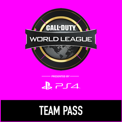 Call of Duty World League Finals - Team Pass