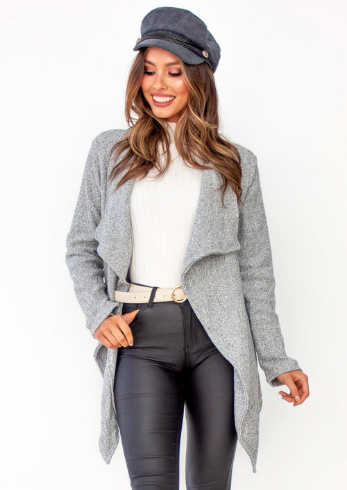 Women's Zeke Knit Jacket - Grey