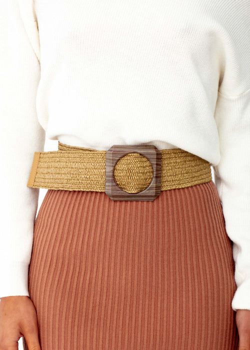 Women's Becket Belt - Natural