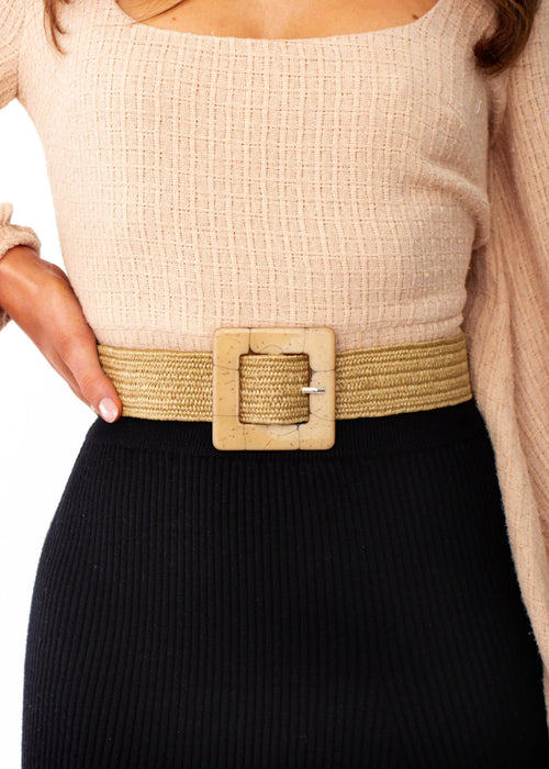 Women's Rexi Belt - Natural