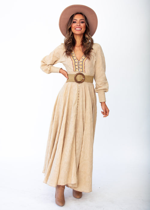 Women's Indiana Maxi Dress	- Amanda - Jaase