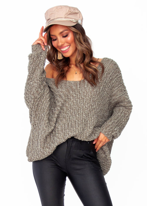 Women's Waratah Sweater - Khaki