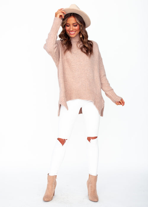 Women's Apollo Sweater - Blush