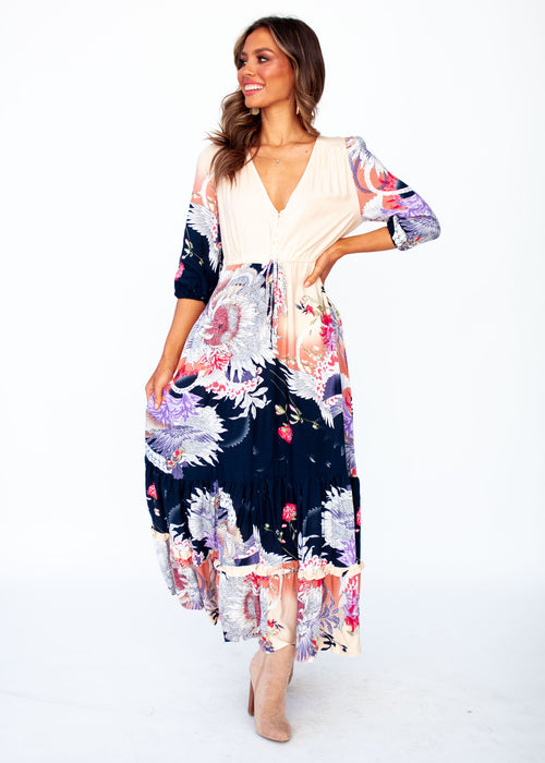 Paolo Maxi Dress - Arlette - Jaase