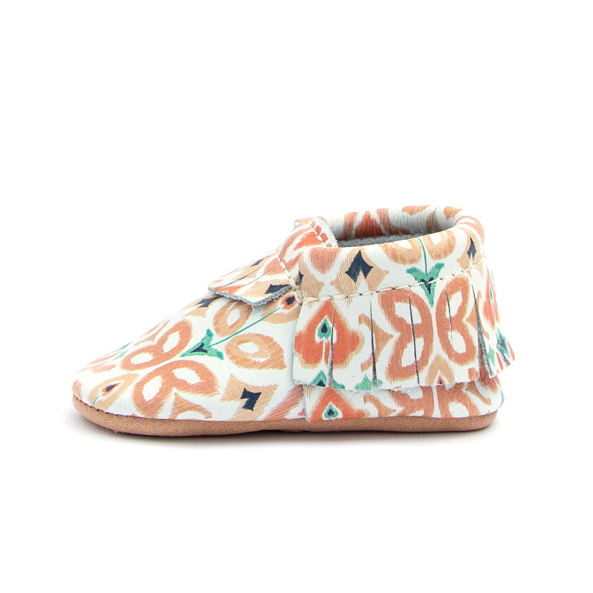 Moccasin - Peach Ikat