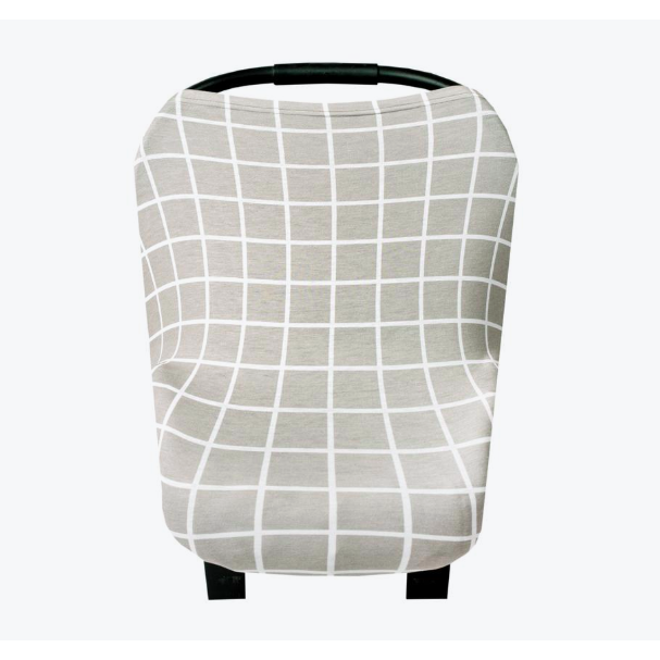 Multi-Use Cover - Grey Grid