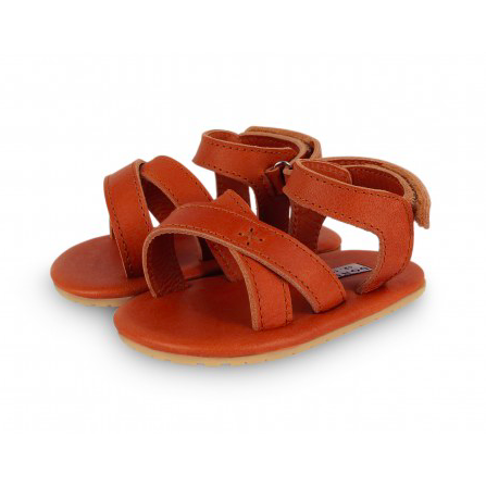 Giggles Sandles - Cognac Classic Leather