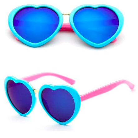 Kari Sunglasses - Aqua Blue