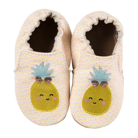 Fruit Soft Sole Shoes - Beige