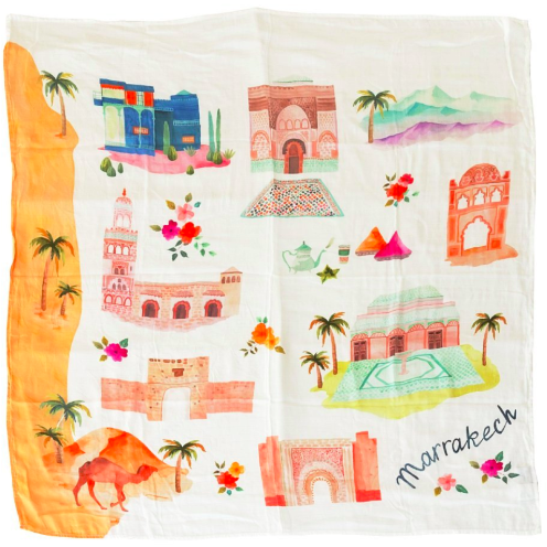 Luxe Muslin Swaddle - Marrakesh