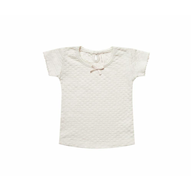 Organic Cotton Tee - Pebble