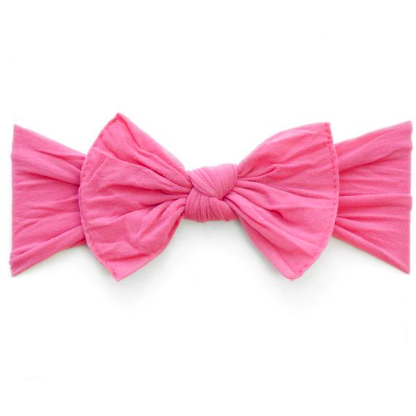 Itty Bitty Knot Headband - Bubblegum