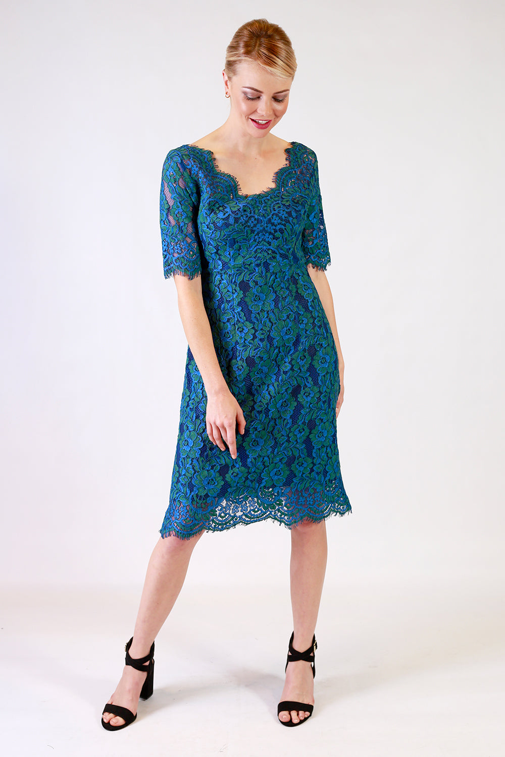Chenille Sharne Lace Dress