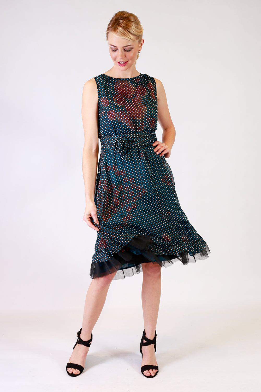 Address Unknown Flipit Wrap Dress