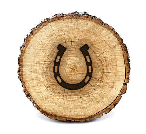 Wood BurnStencil™ - Horse Shoe