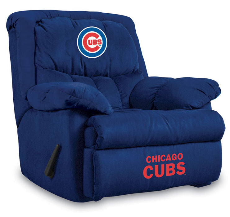Chicago Cubs Microfiber Home Team Recliner | Man Cave Authority | IMP  241-2005