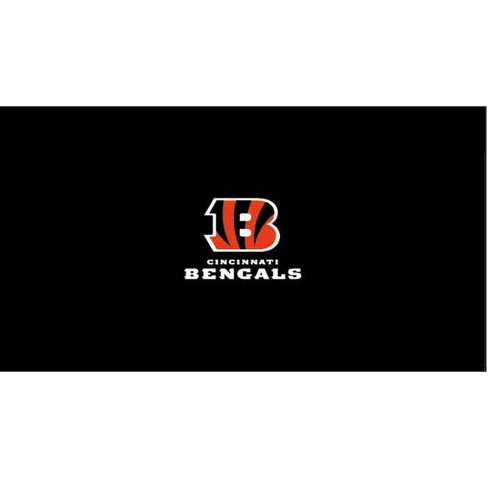 Cincinnati Bengals 8 Foot Billiard Cloth | Man Cave Authority | IMP 52-1023