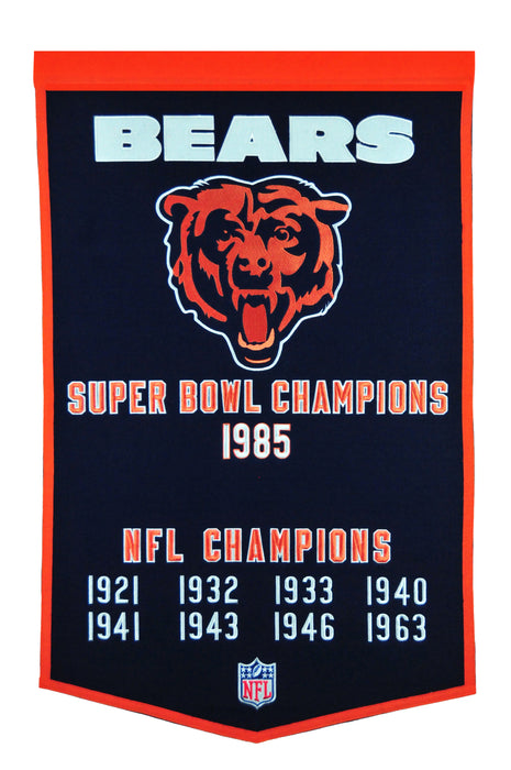 Chicago Bears Banner | Man Cave Decor | 77080