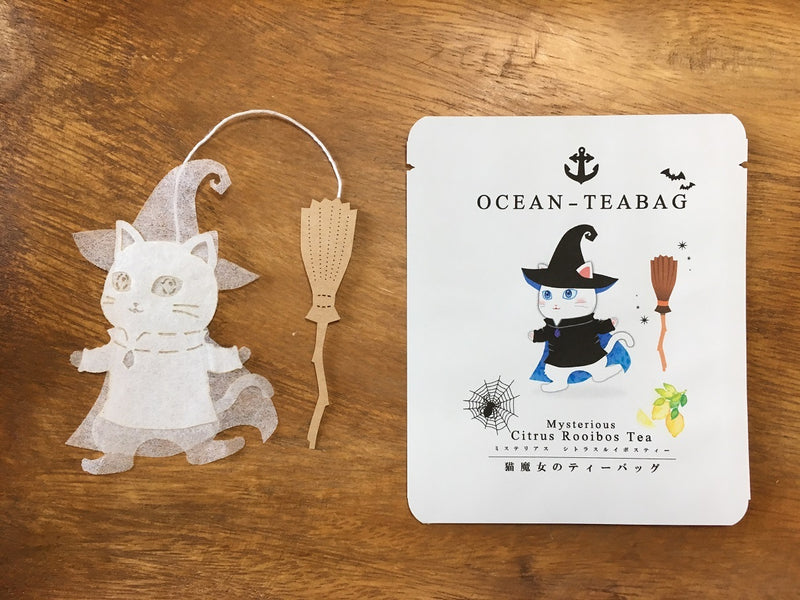 Mysterious Cat Tea by Ocean Tea Bag