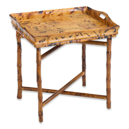 Antique Tortoise Tray Table