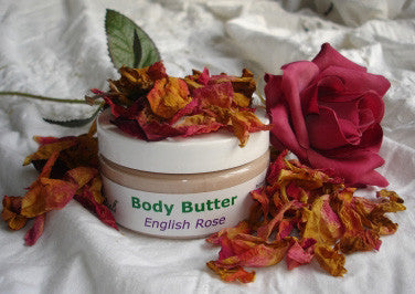 English Rose Body Butter - 4 oz