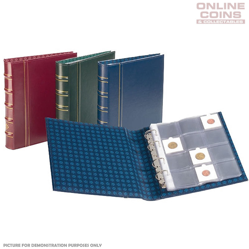 Lighthouse - Classic Optima Binder for Coin Holders Without Slipcase - Blue