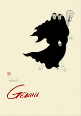 Zodiac Poster GEMINI (May 21 - Jun 21) - The Reasoners